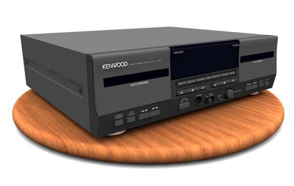 3D: Cassette Tape Player
