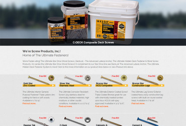 The New Screw-Products.com Site